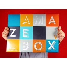 AmazeBox by Mark Shortland (Gimmick+online instruction) - Magic trick,close up,Stage,card magia,illusion,mentalism,funny