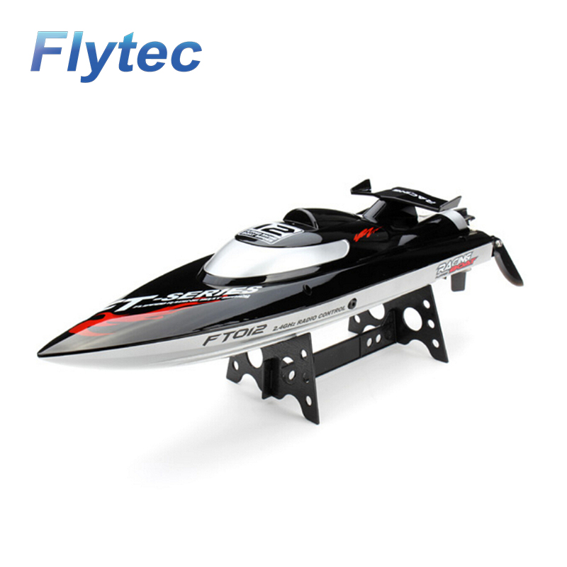 FT012 24G Brushless RC Racing High Speed Boat with Water Cooling Self-righting System Upgraded FT009 Racing Boat