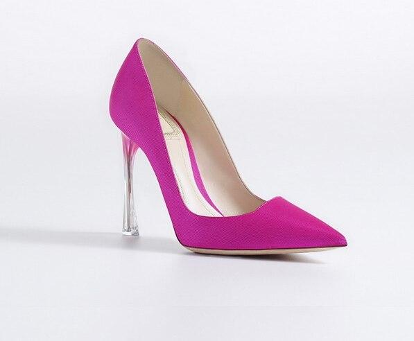 Gladiateurs Bout Suede Femme 5cm 9 Chaussures 9 Femmes Talons On Pointu Slip 5cm 5cm Cristal Peu Profonde 7 5cm Pompes Étrange Transparent 7 5cm Mode 9 Haute 5cm Talon 7 1XTnZqwfXd