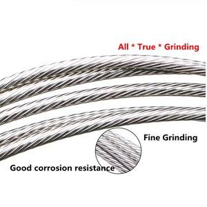 Тормозной переключатель из нержавеющей стали, 1 шт., для МТБ, дорожный велосипед, набор кабелей, сердцевина, Внутренний провод 2100 мм, 1700 мм
