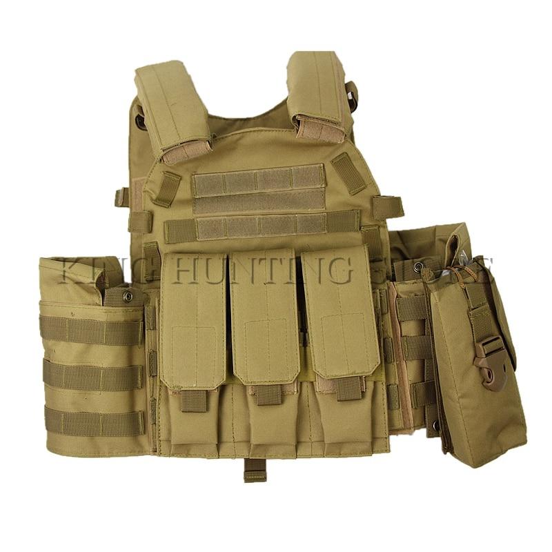 Militaire Transporteur OUTDOOR TACTICAL SPORTS molle Gear Champ SWAT réglable Vest 0