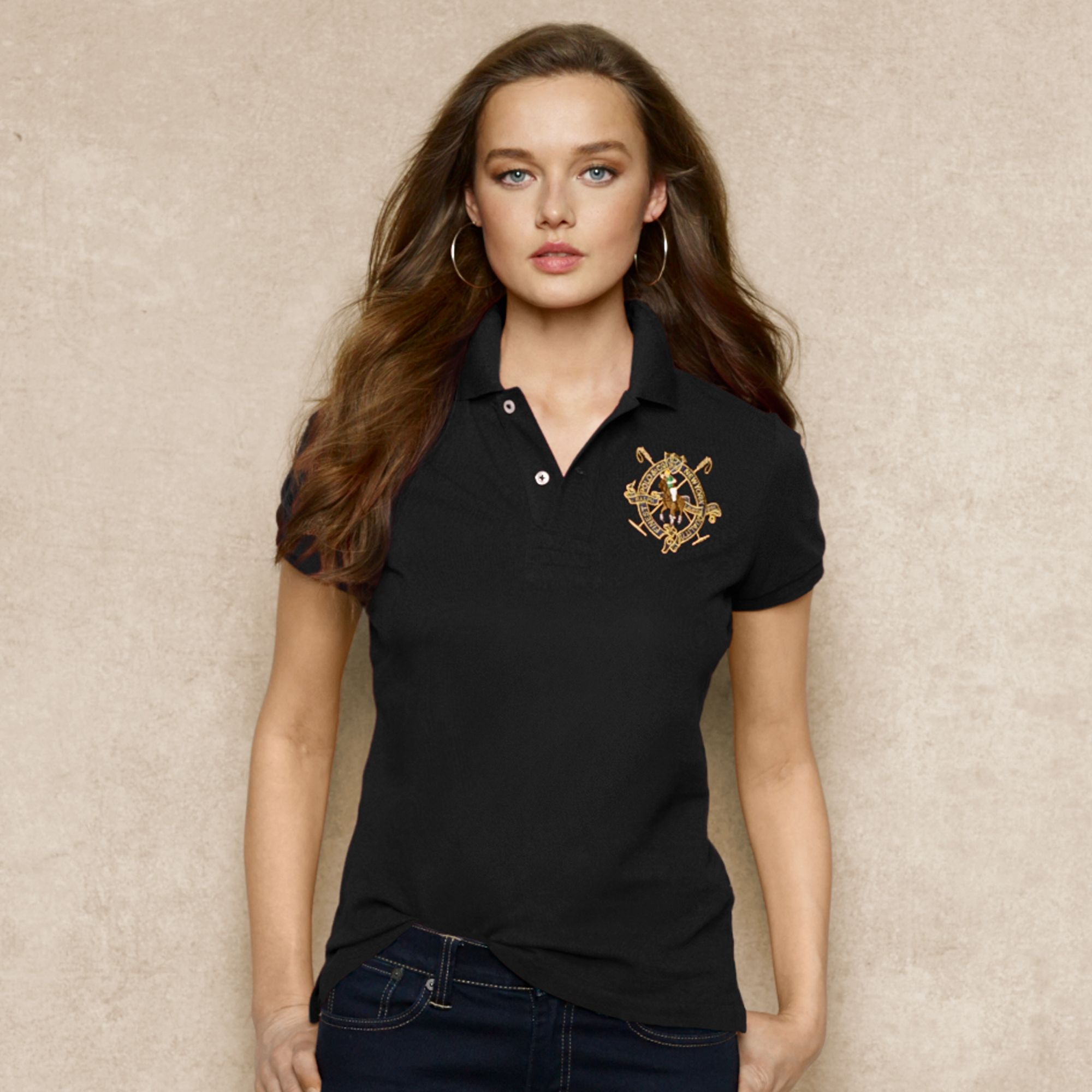2019 Famous Brand Women Cotton Golf Polo Shirts Turn-down Collar Golf Wear Short Sleeves Jersey Breathable Golf Shirt Clothing