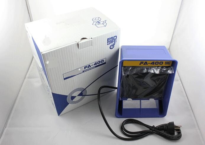 Hakko FA-400 Portable Desktop Type Fume Extractor Solder Smoke Absorber for Soldering Station 220V цена