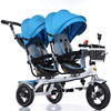 High Quality Steel Frame Twins Stroller 12 Inch Air Wheel Double Seat Pram 4 Color For