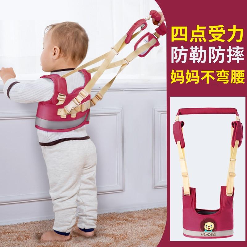 New Infant Walking Strap Safety Toddler Harness Walker Assistant Leash Backpack For Children, aprendizagem caminhada assistente