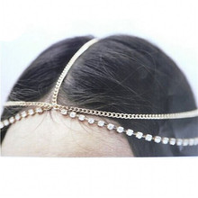 2017 Best Price 1PC Multilayer Chain Jewelry Headband Hair Head Chain Band