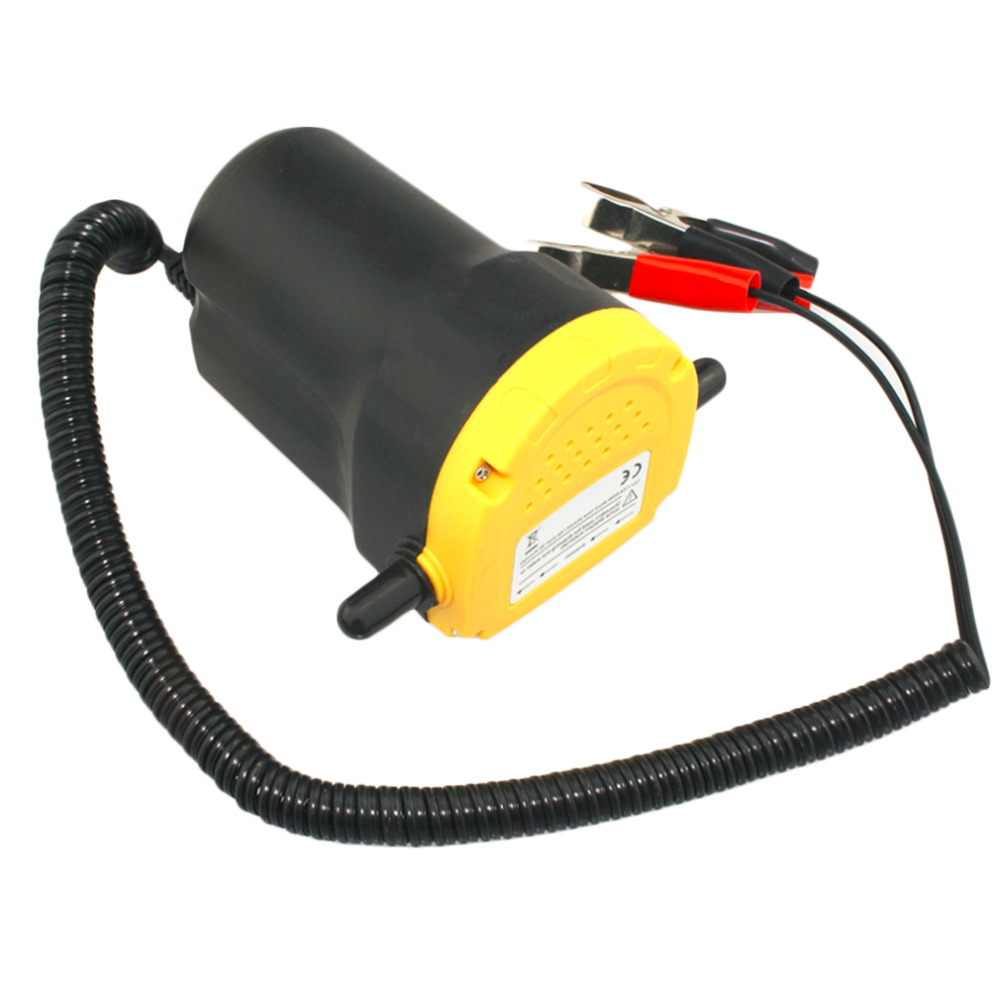 Professional car vacuum pump 12v electric auto hydraulic diesel fuel oil pump oil extractor changer