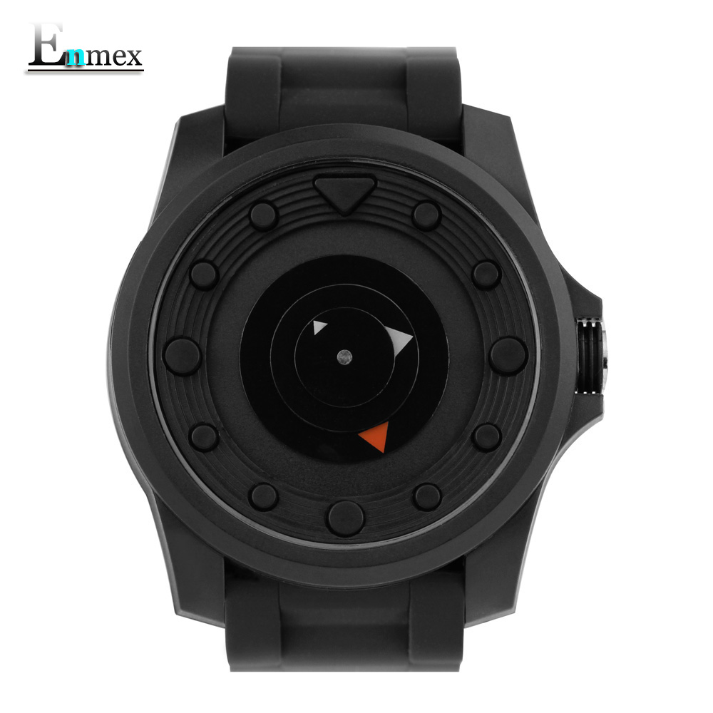 Gift Enmex creative style spor wristwatch Black sedan creative design silicone band 3D scale clock brief casual quartz  watch 2017 gift enmex creative simple design brief face with a red pointer steel band water prof young and fashion quartz watch