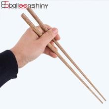 BalleenShiny супер длинные палочки для еды деревянные палочки для еды Кук лапша фритюрница горячий горшок китайский стиль еды палочки кухонные инструменты