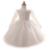 2016 bebê menina vestido de mangas compridas de renda vestidos de festa de aniversário new born baby girl roupas rosa branco vestidos vestido de bebe