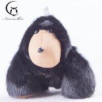Новый 2018 Copenhagen натуральный мех сильный орангутанг брелок из меха норки аксессуары сумка брелок модные аксессуары роскошные игрушки