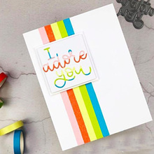French Phrase I adore you Metal Cutting Dies for Scrapbooking DIY Card Album Embossing Making Paper Decor New 2019