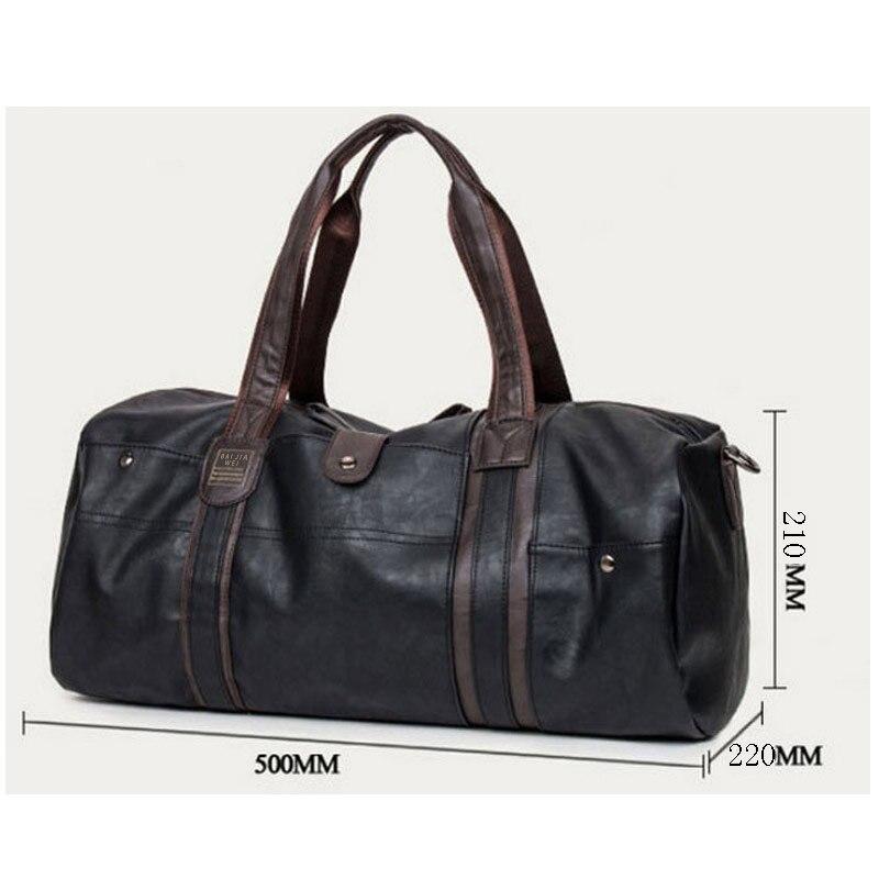 viagem pacote Leather Bags : Men Bags