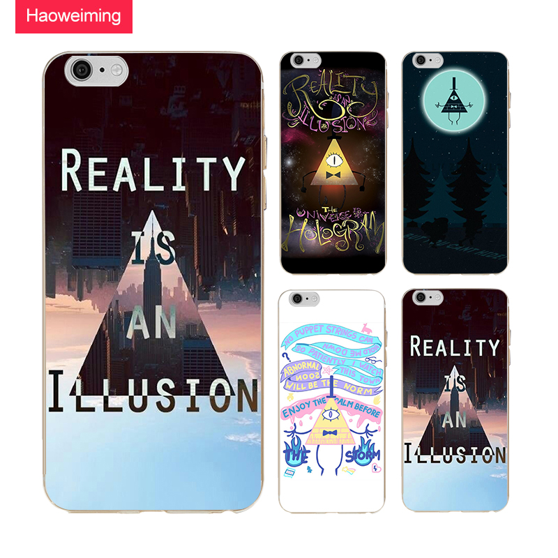 Reality Illusion Bill Cipher Silicone Soft Tpu Cover Case For