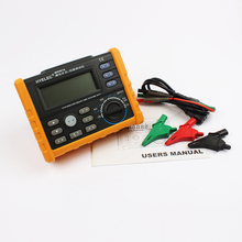Buy online MS5910 Digital resistance meter RCD loop resistance tester MultimeterTrip-out Current/Time Test RL Meter with USB free shipping