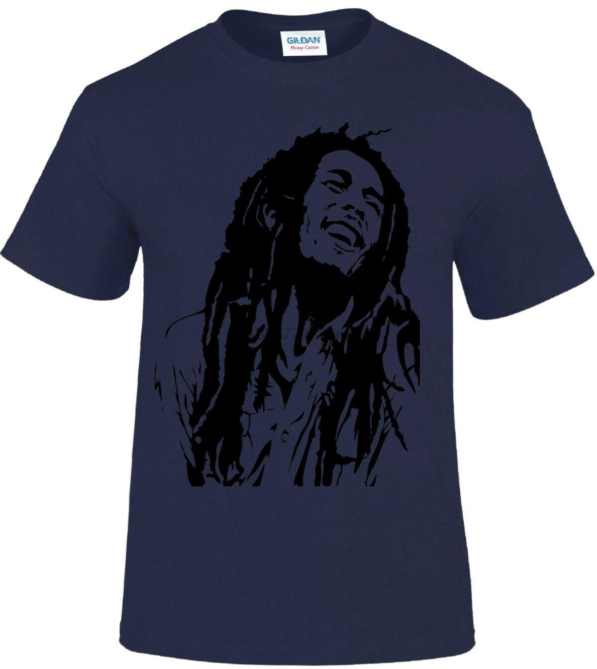 Rasta Coeur T-shirt à manches longues-reggae cannabis Bob Marley Marijuana Jamaïque