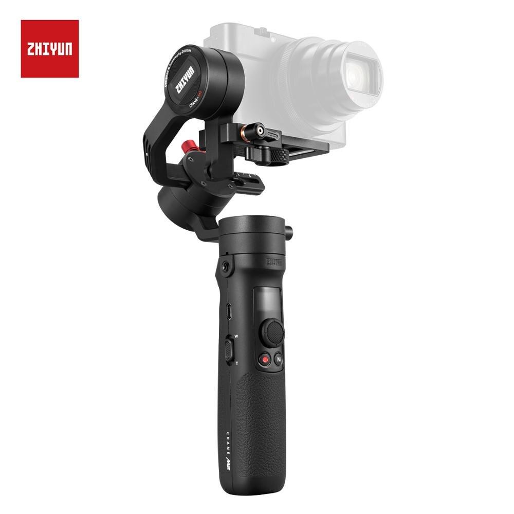 ZHIYUN CRANE M2 3 As Gimbals voor Actie Camera Mirrorless Camera Smartphones Nieuwe Collectie Stabilizer-in Handstatieven van Consumentenelektronica op  Groep 1