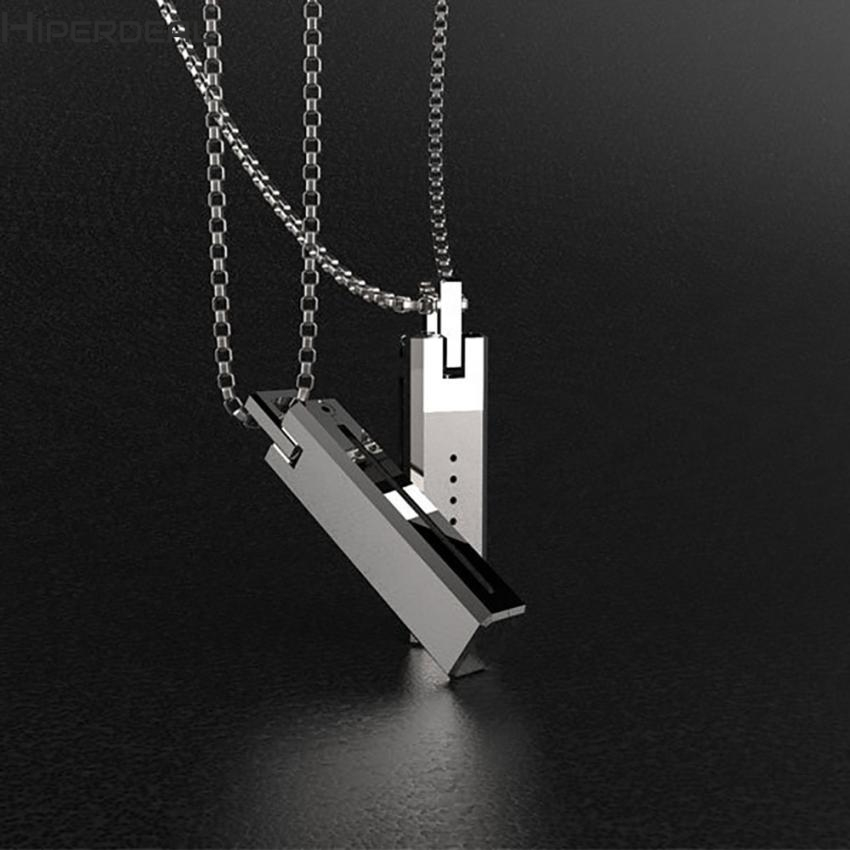 HIPERDEAL New Unique Metal Necklace Pendant Magnetic Holder Chain For Fitbit Flex 2 Flex2 Band 17Dec21 Dropshipping F