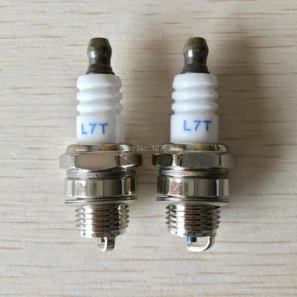 2Pcs 25cc 52cc 62cc Chainsaw Brush Cutter Spark Plug For 2 Stroke Engine