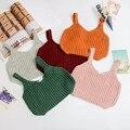 Весна Осень Дети Девушки Свитер Жилет мальчиков V-образным Вырезом Sweateres Верхняя Одежда дети жилет топы новорожденных девочек вязать свитер жилет