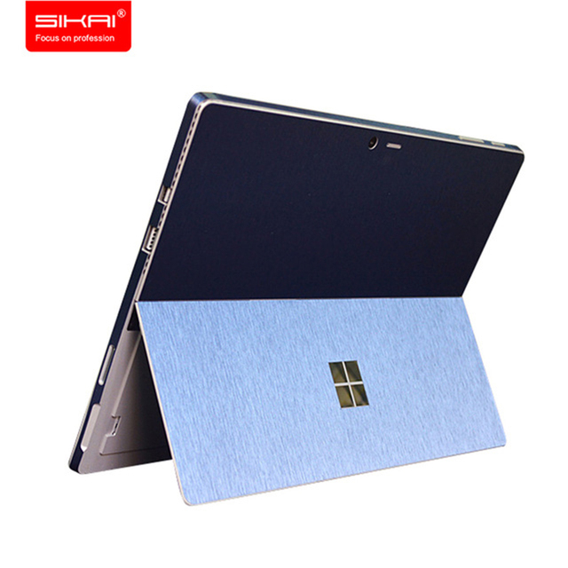 sale retailer 72725 e60de US $8.91 10% OFF|SIKAI Screen Protector Tablet Decal Back Cover Film For  Surface Pro 4 Wrap Protect Skin Sticker For Surface Pro 4 -in Phone Screen  ...