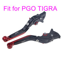 KODASKIN Left and Right  Folding Extendable Brake Clutch Levers for PGO TIGRA