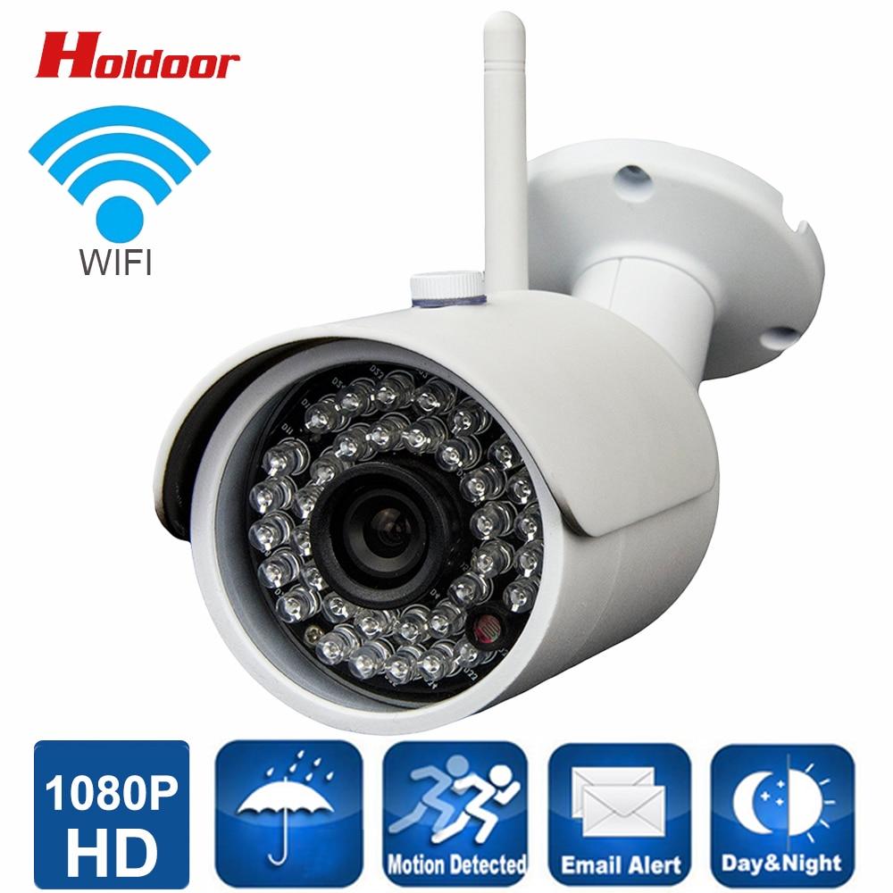 ФОТО 1080p IP Camera wifi Outdoor IR Cut IR LED night vision TF micro-SD slot Remote Access from Android iOS PC Web waterproof ip66