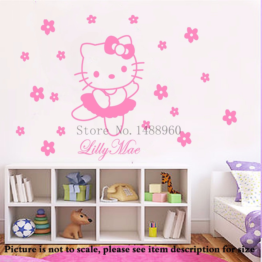 compare prices on 3d names online shopping buy low price 3d names diy minnie vinyl wall sticker for nursery decor wall decal stickers kids room decoration name customized
