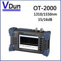 1310/1550nm 15/16dB  Digital Single-Mode SM  Fiber Optic OTDR Tester OT2000  Optical Test  Tools