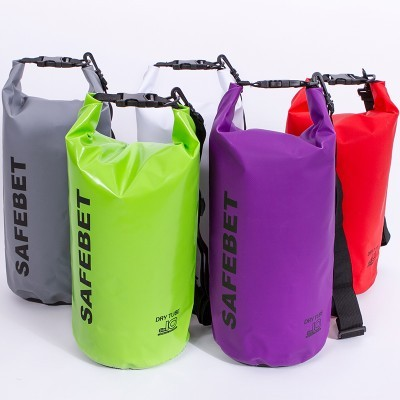 1pc 10L M Size PVC Outdoor Waterproof Bags Ultralight Drifting Rafting Canoe Swimming Camping Hiking Dry Bag Pouch 1718RB