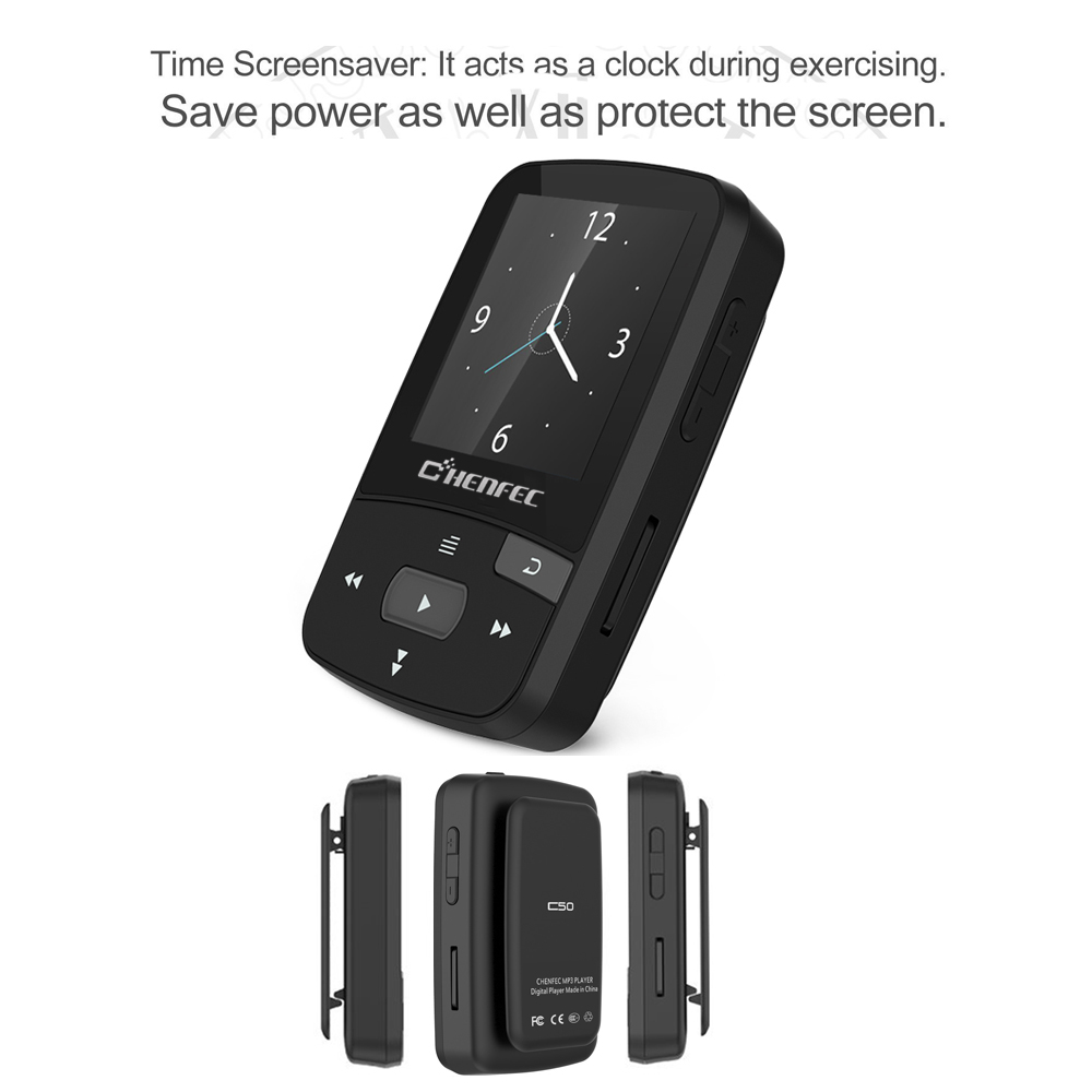 Orijinal MP3 Player Bluetooth 16GB Clip MP3 Sport Running 1.5