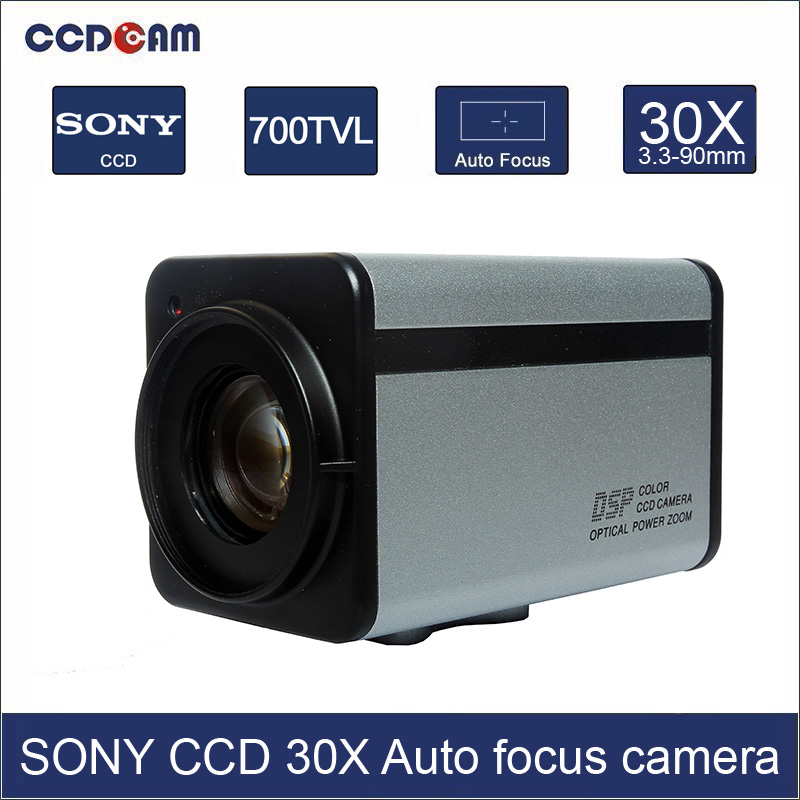 CCDCAM 700TVL 30x Optical Sony CCD Zoom Camera Module WDR
