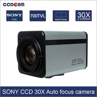 CCDCAM 700TVL 30x Optical Sony CCD Zoom Camera Module WDR ICR IR CUT DSS Auto Focus RS485 Control CCTV PTZ Dome zoom Camera