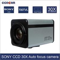 CCDCAM 700TVL 30x Optical Sony CCD Zoom Camera Module WDR ICR IR CUT DSS Auto Focus RS485 Control CCTV PTZ Dome zoom Camera