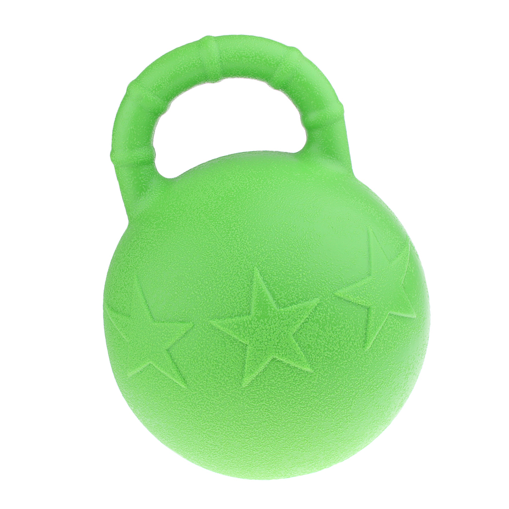 MagiDeal Horse Care Products Horse Toy Game Ball With Apple Scent Horse Trainer Tool Green For Training Horse