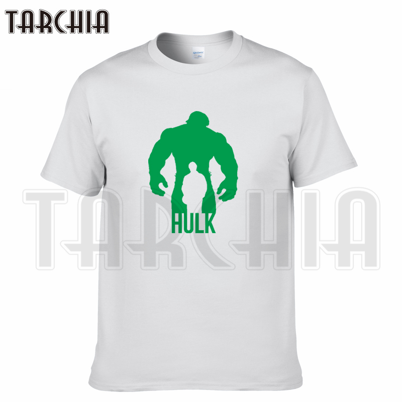 TARCHIA 2018 new summer brand t-shirt cotton movie hulk tops tees men short sleeve boy casual homme tshirt t plus fashion