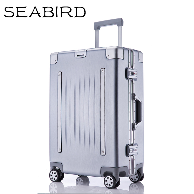 Color : Rose Gold, Size : 24 inches CLOUD Luggage Sets Travel Suitcase Male and Female Lightweight ABS Portable Consignment Suitcase Trolley Case Lock 4 Wheels