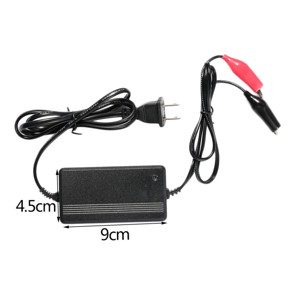 2017 Black Professional 12 V 3A Lead Acid Battery Charger Car Auto Vehicles Power Supply Charger Car Accessories Hot