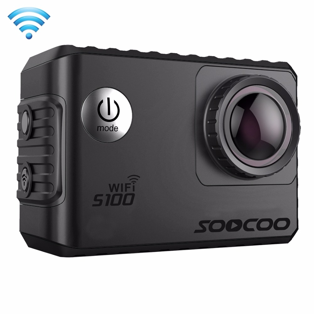 SOOCOO S100 2' Screen 4K 170 Degrees Wide Angle WiFi Sports Action Camera Camcorder with Waterproof Housing Case soocoo c30 sports action camera wifi 4k gyro 2 0 lcd ntk96660 30m waterproof adjustable viewing angles