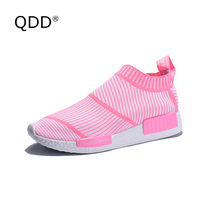QDD Breathable Air Women Sneakers Female Outdoor Sport Shoes Light Weight Outdoor Women Walking Shoes Lady Single Shoes