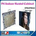 Крытый smd p6 из светодиодов кабинет полноцветный прокат реклама из светодиодов табло 576 * 576 мм крытый из светодиодов экран стены