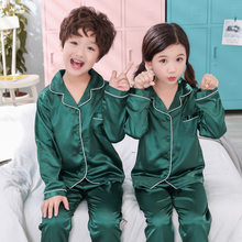 Boys pajamas 2018 spring and autumn long sleeve childrens clothing sleepwear suit girls pyjamas sets for kids tracksuit