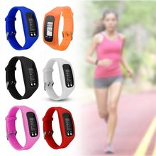 Multifunction Smart Bracelet Pedometer Activity Tracker 5 Digit LED Display Outdoor Sport Wristband Health Watch for Adults(China)