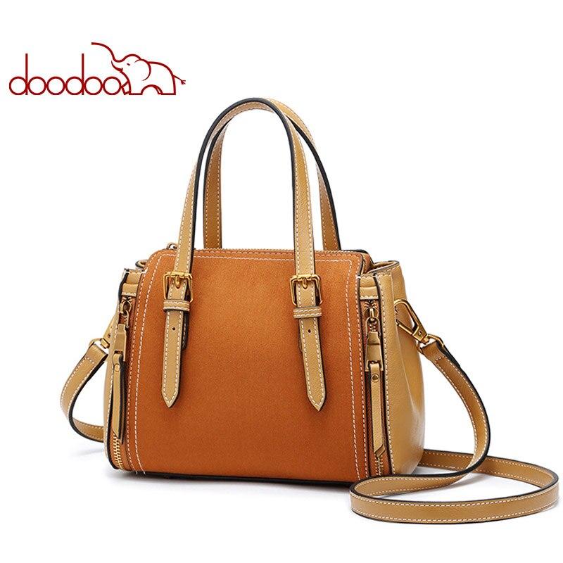 DOODOO femmes Pu cuir sac à main femme épaule bandoulière sacs de luxe sacs à main femmes sacs Designer haut pour femme-poignée 2018 fourre-tout