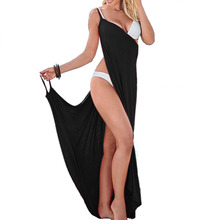 5XL Beach Cover Up Sexy Robe Plage Candy Color Beach Long Dress Pareos Women Beach Tunic Sarong Bathing Suit Bikini Cover Up