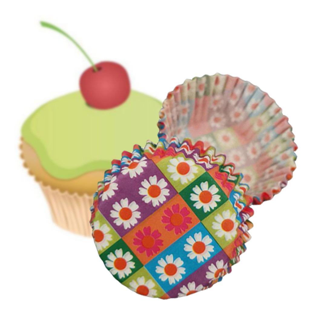 100pcs Colorful Paper Cake Cupcake Liner Case Wrapper Muffin Baking Cup Party