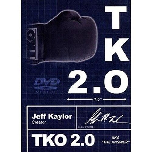 TKO2.0: l'option Kaylor noir et blanc (DVD et Gimmick) de Jeff Kaylor et Michael Ammar accessoires magiques pour magiciens