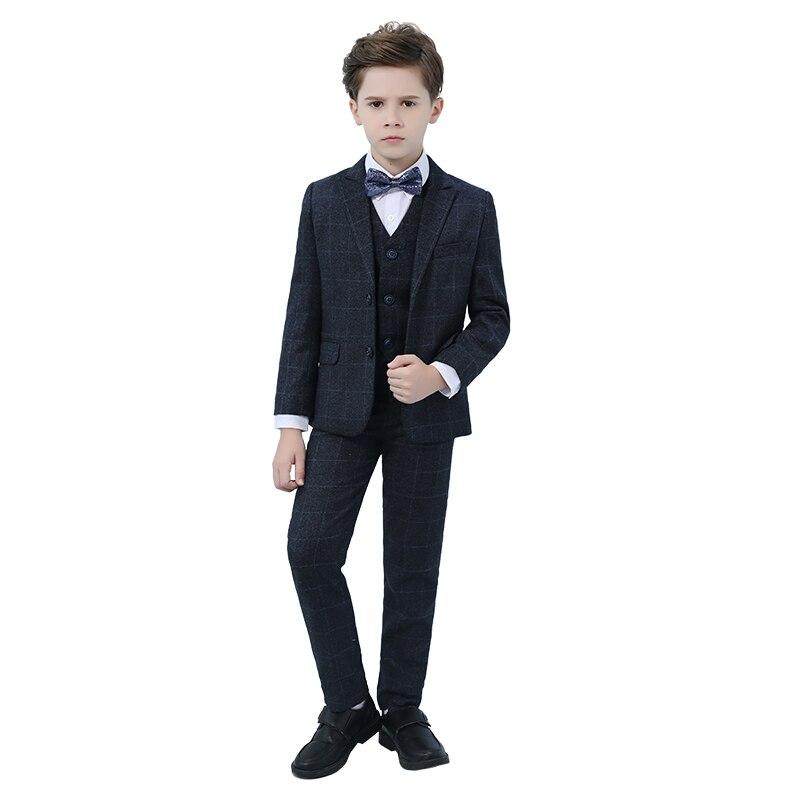 2019 Di Alta Qualità Ragazzi Vestiti Matrimoni Vestiti Per I Ragazzi Del Vestito Dei Bambini Costumi Set Giacche Per I Ragazzi Pianoforte Costume Il Prezzo Rimane Stabile