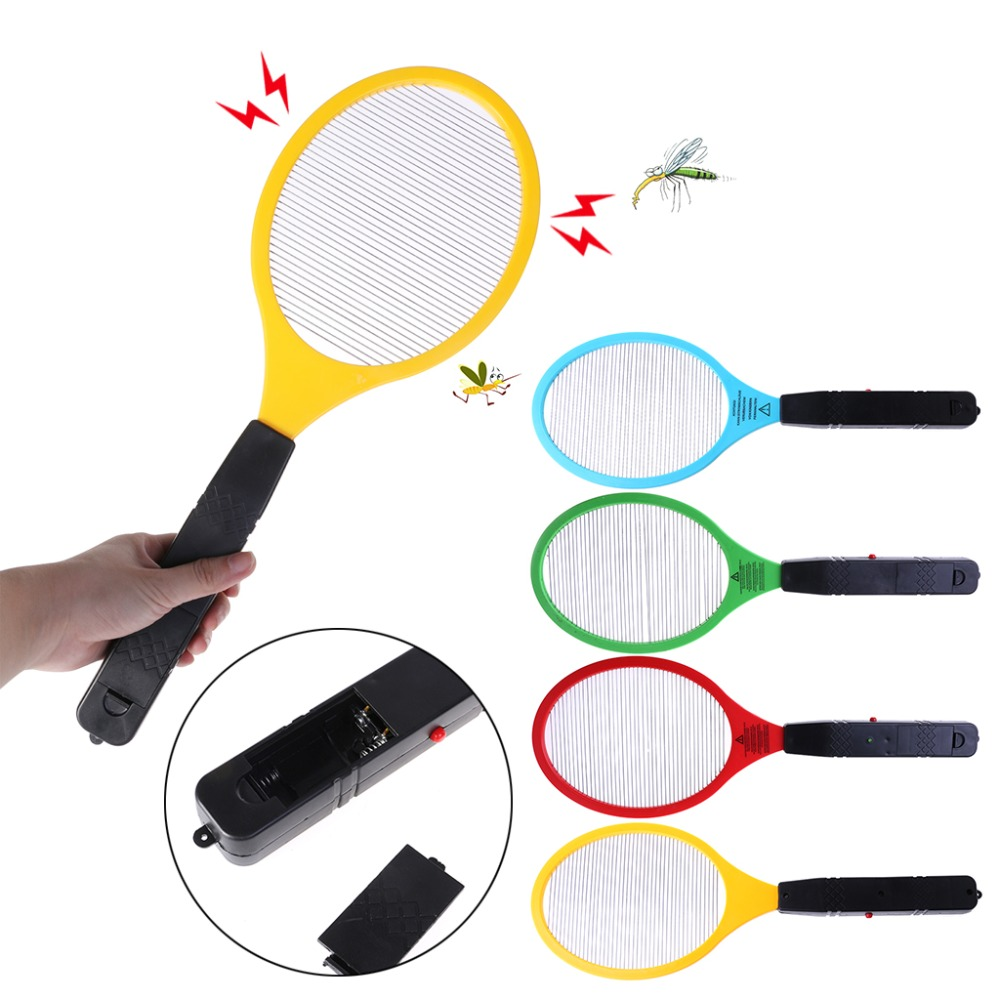 Home Appliance Parts Electric Anti Mosquito Fly Swatter Bug Zapper Killers Racket Home Pest Control