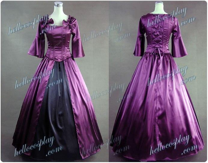 Robe de bal Lolita coloniale robe de mariée de bal H008